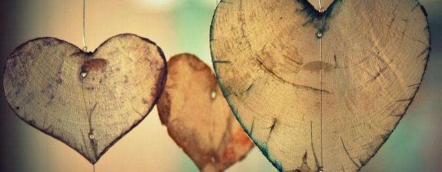 Hjerter i træ